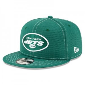 New York Jets New Era 2019 Official Road Sideline 9FIFTY Snapback Cap