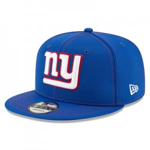 New York Giants New Era 2019 Official Road Sideline 9FIFTY Snapback Cap