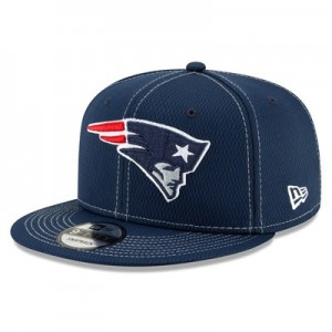 New England Patriots New Era 2019 Official Road Sideline 9FIFTY Snapback Cap