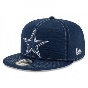 Dallas Cowboys New Era 2019 Official Road Sideline 9FIFTY Snapback Cap