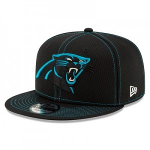 Carolina Panthers New Era 2019 Official Road Sideline 9FIFTY Snapback Cap