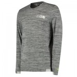 Seattle Seahawks New Era Engineered Raglan Long Sleeve T-Shirt - Mens