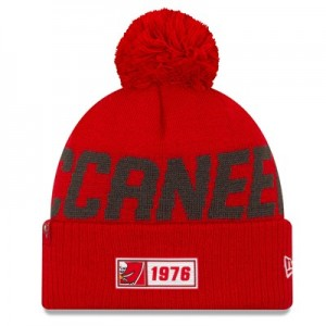 Tampa Bay Buccaneers New Era 2019 Official Cold Weather Road Knit