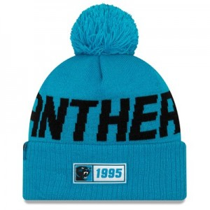 Carolina Panthers New Era 2019 Official Cold Weather Road Knit