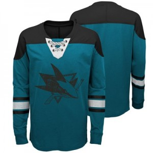 San Jose Sharks Perennial Long Sleeve Crew - Kids