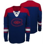 Montreal Canadiens Perennial Long Sleeve Crew - Youth