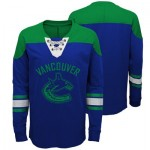 Vancouver Canucks Perennial Long Sleeve Crew - Youth