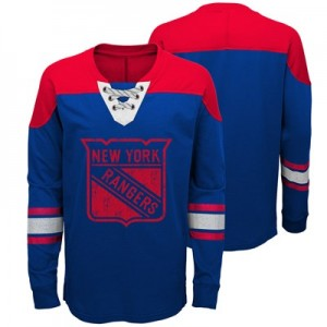 New York Rangers Perennial Long Sleeve Crew - Youth