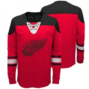 Detroit Red Wings Perennial Long Sleeve Crew - Youth