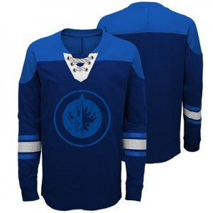 Winnipeg Jets Perennial Long Sleeve Crew - Youth