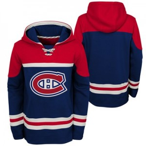 Montreal Canadiens Asset Pullover Hockey Hoodie - Youth