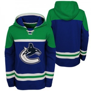 Vancouver Canucks Asset Pullover Hockey Hoodie - Youth
