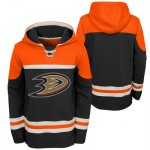 Anaheim Ducks Asset Pullover Hockey Hoodie - Youth