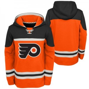 Philadelphia Flyers Asset Pullover Hockey Hoodie - Youth
