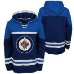 Winnipeg Jets Asset Pullover Hockey Hoodie - Youth
