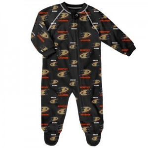 Anaheim Ducks Raglan AOP Sleeper Suit - Infant