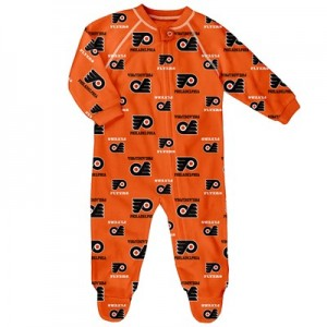 Philadelphia Flyers Raglan AOP Sleeper Suit - Infant