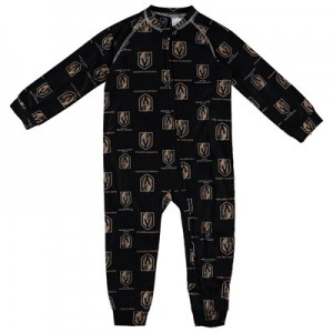 Vegas Golden Knights Raglan AOP Sleeper Suit - Toddler