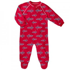 Washington Capitals Raglan AOP Sleeper Suit - Infant
