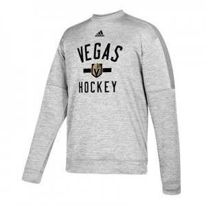 Vegas Golden Knights adidas Fleece Climawarm Crew - Mens