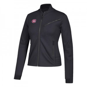 Montreal Canadiens adidas Moto Jacket - Womens