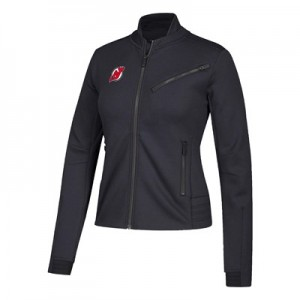 New Jersey Devils adidas Moto Jacket - Womens
