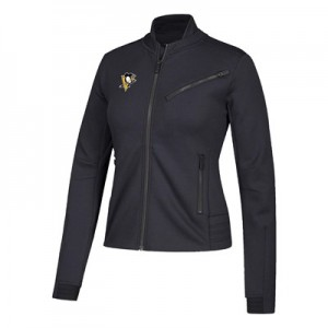 Pittsburgh Penguins adidas Moto Jacket - Womens