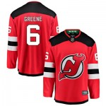 New Jersey Devils Fanatics Branded Home Breakaway Jersey - Andy Greene - Mens