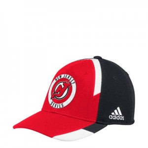 New Jersey Devils adidas Practice Fitted Cap