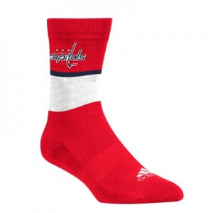 Washington Capitals adidas Team Replica Sock
