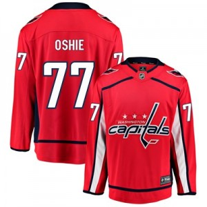 Washington Capitals Fanatics Branded Home Breakaway Jersey - T. J. Oshie - Mens