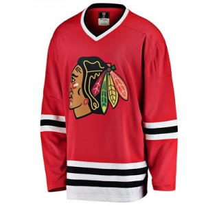 Chicago Blackhawks Fanatics Branded Heritage Breakaway Jersey - 1996-1999 - Mens