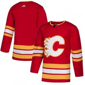 Calgary Flames Fanatics Branded Alternate Breakaway Jersey - Mens