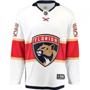 Florida Panthers Fanatics Branded Away Breakaway Jersey - Mens