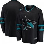 San Jose Sharks Fanatics Branded Alternate Breakaway Jersey - Mens