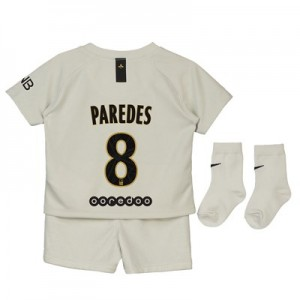 Paris Saint-Germain Away Stadium Kit 2018-19 - Infants with Paredes 8 printing