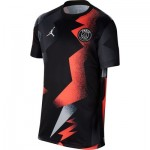 Paris Saint-Germain Pre Match Top - Black - Kids
