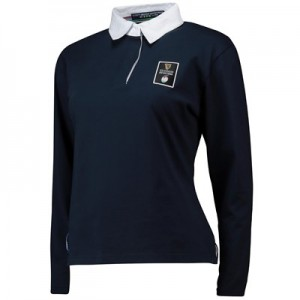 Guinness 6 Nations 19 Long Sleeved Rugby Jersey - Navy - Womens