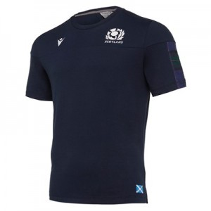 Scotland Rugby Travel T-Shirt - Navy - Kids