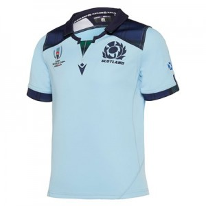 Scotland Rugby World Cup Alternate Replica Shirt - Kids
