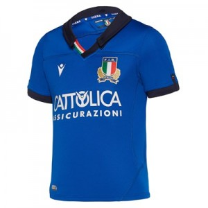 Italy Rugby Home Shirt - Kids
