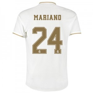Real Madrid Home Authentic Shirt 2019-20 with Mariano 24 printing