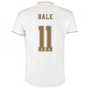 Real Madrid Home Authentic Shirt 2019-20 with Bale 11 printing