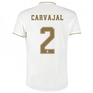 Real Madrid Home Authentic Shirt 2019-20 with Carvajal 2 printing