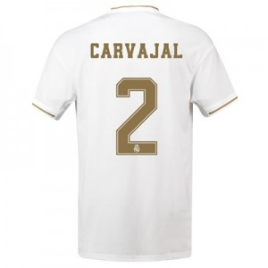 Real Madrid Home Shirt 2019-20 with Carvajal 2 printing