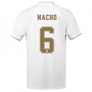 Real Madrid Home Shirt 2019-20 with Nacho 6 printing