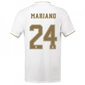 Real Madrid Home Shirt 2019-20 with Mariano 24 printing
