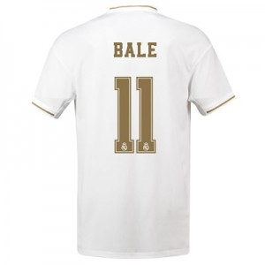 Real Madrid Home Shirt 2019-20 with Bale 11 printing