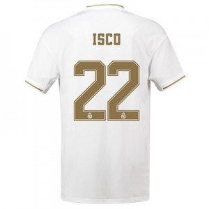 Real Madrid Home Shirt 2019-20 with Isco 22 printing