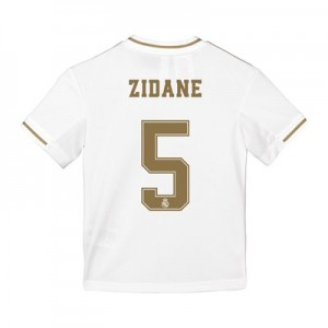 Real Madrid Home Shirt 2019-20 - Kids with Zidane 5 printing